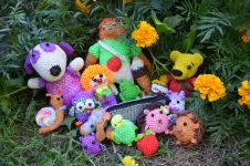 лумигуруми - игрушки, связанные из резинок