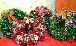 Новогодние гномы, снеговики и прочие игрушки ручной работы