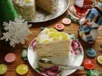 Рецепты советских тортов: Торт сметанник на сковороде