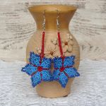 Handmade beaded jewelry: Sparks of fireworks