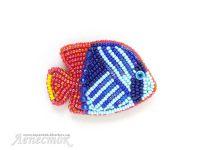 Украшения из бисера: Океаническая рыбка