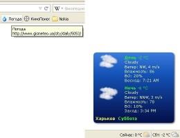 Надежные погодные интернет-информаторы