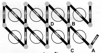 Шов Монастырский, вышивальщицам крестиком этот шов известен как полукрестик