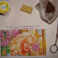Типы швов для вышивки картины бисером, мастер-класс