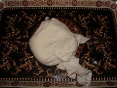 Заворачиваем холодный фарфор в мокрую тряпочку