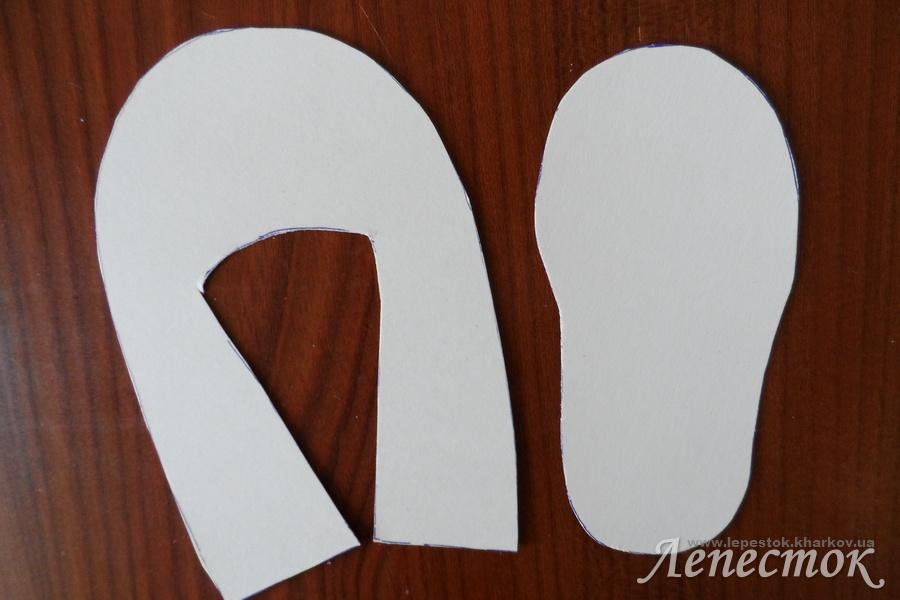 Как сделать из креп бумаги украшение 23
