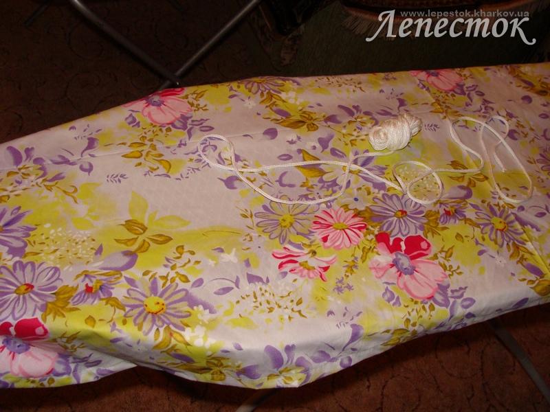 Чехол для гладильной доски на резинке сшить