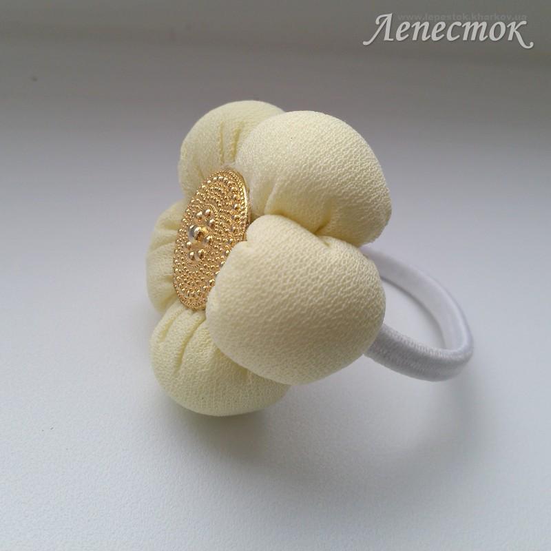 Цветы резинки для волос своими руками